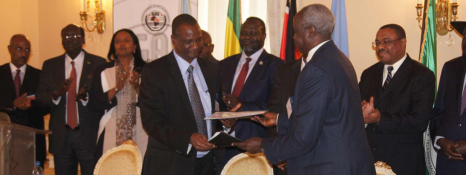 South Sudan Parties Sign Implementation Matrix of<br />Cessation of Hostilities Agreement